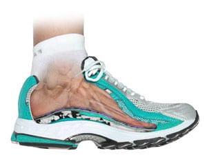 Athletic shoe fit